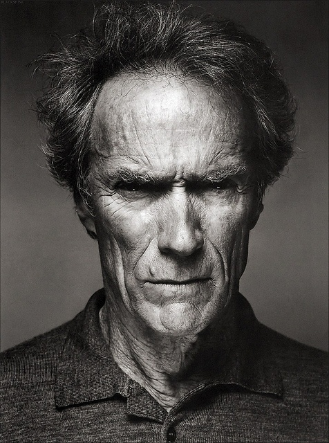 Clint Eastwood has such a wonderful face