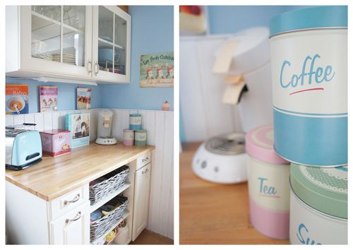 Shabby Chic Kitchen Accessories And Craft Space. Pastel Kitchen DecorShabby  .