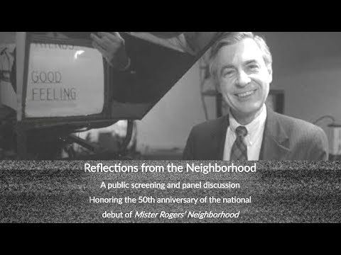 Reflections From The Neighborhood Fred Rogers 50th Anniversary Youtube The Neighbourhood Mister Rogers Neighborhood 50th Anniversary