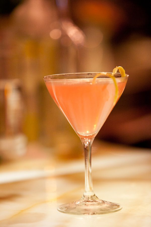 Signature Italian Teardrop Martini - hHow about one of these after work today?