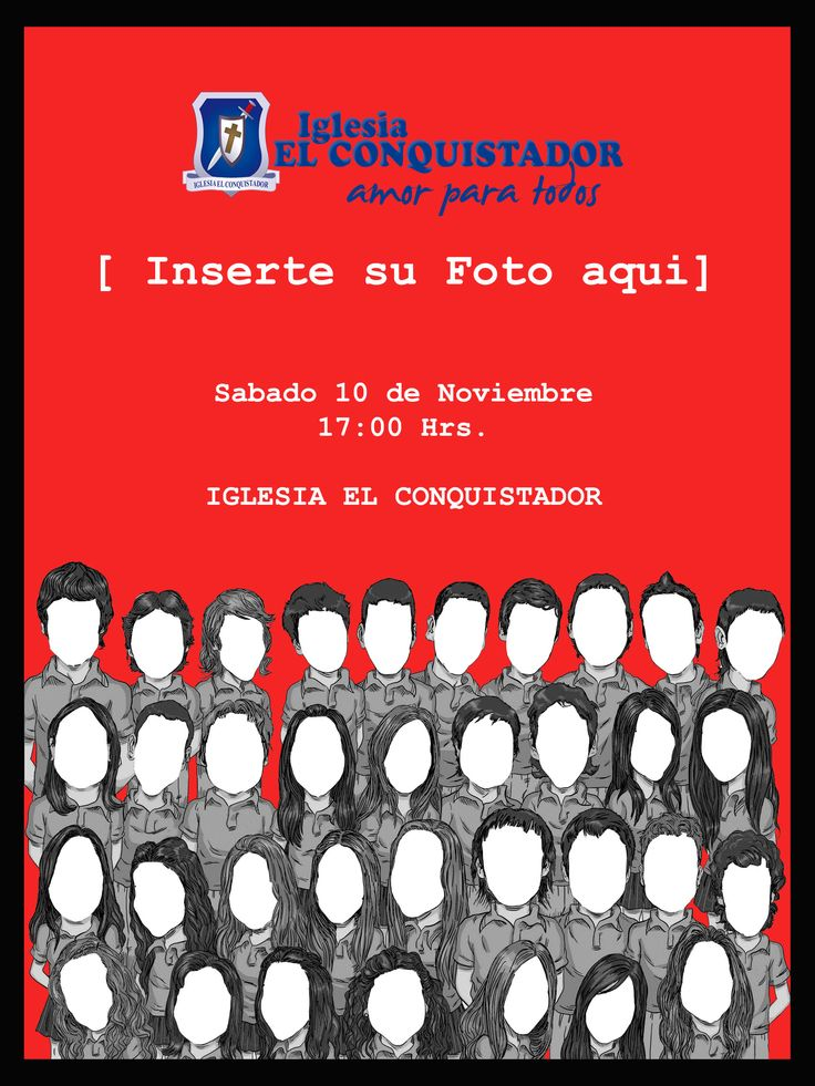 afiche foto grupal