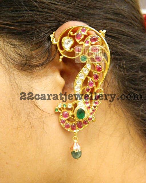 Full Kaan Earrings by Kothari Jewelry