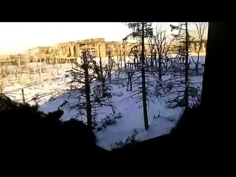 Ukraine War   Video shows intense fighting at Donetsk airport