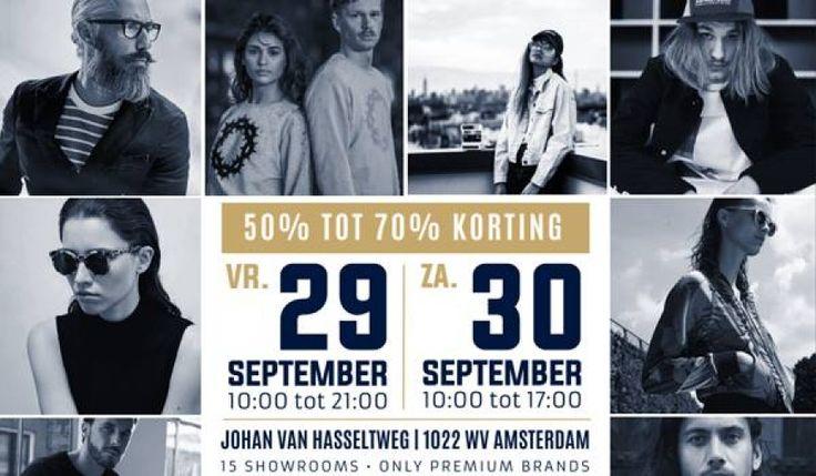 Sample Sale Amsterdam Noord #6 -- Amsterdam -- 29/09-30/09