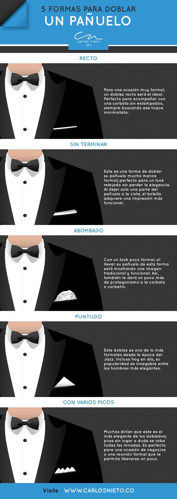 #EstiloCn 5 formas para doblar un pañuelo
