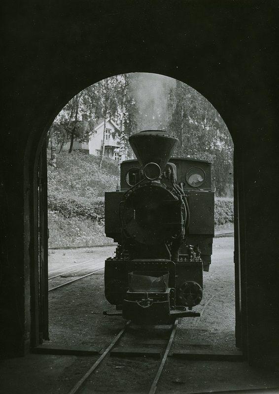 Nokian puunjalostustehtaan veturi vuosi 1938,  #train #locomotive #höyryveturit #junat
