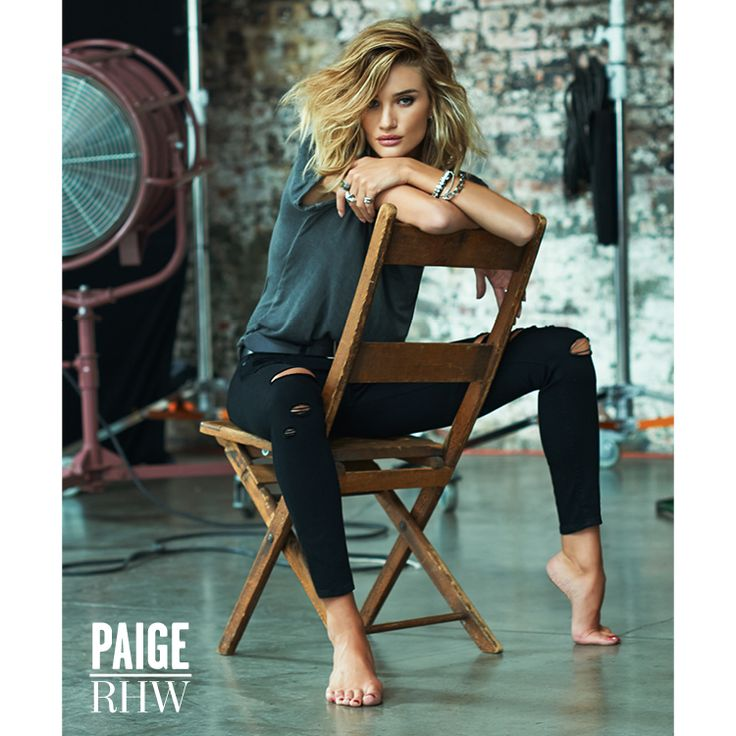Rosie Huntington-Whiteley's New Campaign Is Begging to Be Pinned to Your Fall Denim Board