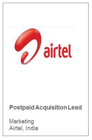 Postpaid Acquisition Lead Marketing Airtel, India