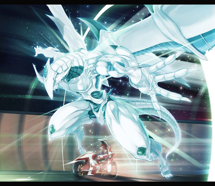 Yugioh - Yusei and Shooting Star Dragon