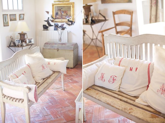 Living room # country chic # pillows # B&B Cà Bianca dell'Abbadessa Bologna - ITALY #