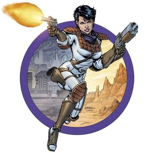 """""""Trekker Talk"""" is a fan podcast devoted to sci-fi bounty hunter Mercy St Clair from """"Trekker"""" by #RonRandall"""