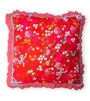 Pip Studio sierkussen Flower Harmony rood