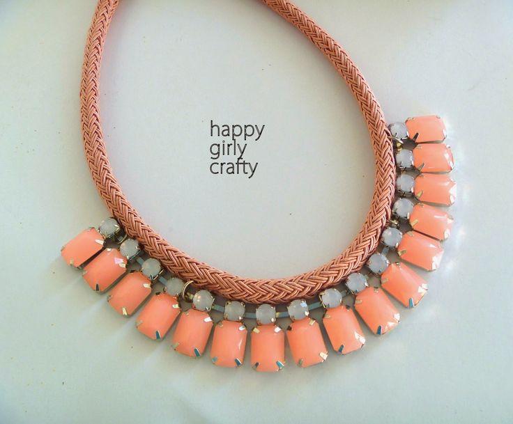 happy girly crafty: Κολιέ : ιδέες και τάσεις!