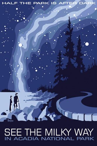 Tyler E. Nordgren - NATIONAL PARKS MILKY WAY POSTERS
