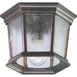 Outdoor Ceiling Lighting | Exterior Light Fixtures In Bronze ...