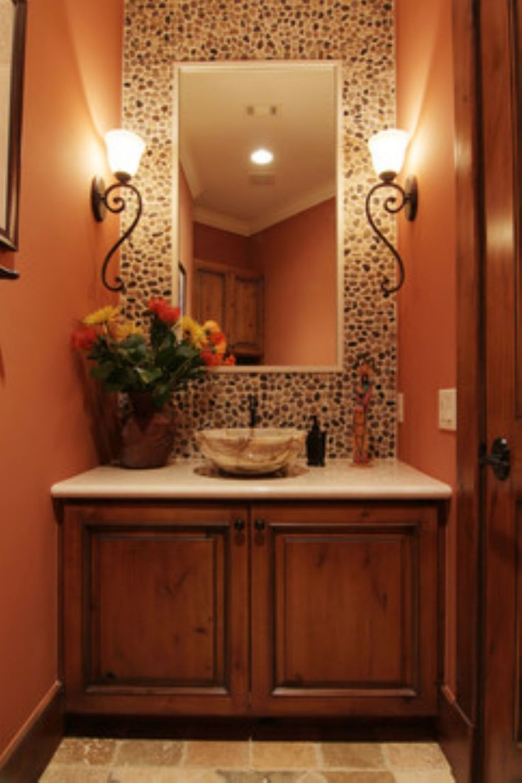 25 best ideas about tuscan bathroom on pinterest tuscan for Guest bathroom remodel ideas