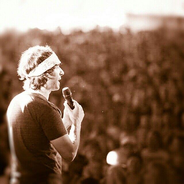 Arj Barker at Falls Festival Lorne