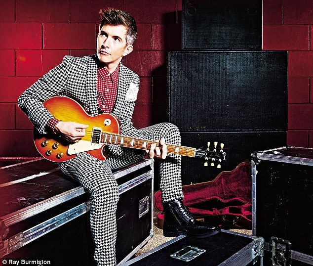 BBC's Gareth Malone wearing our Houndstooth Suit for a recent editorial in Events Magazine. #garethmalone #choir #bbc #houndstooth #suit #menswear #tailoring #music