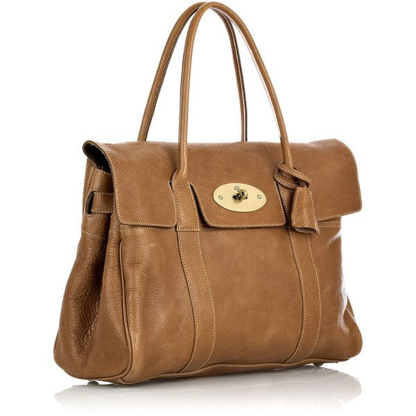 Mulberry Bayswater leather bag ($1,115) ❤ liked on Polyvore