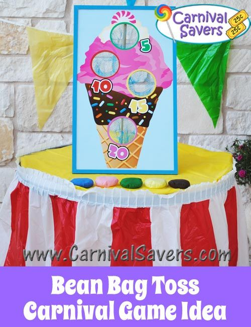 Bean Bag Toss Set - Carnival Party Game
