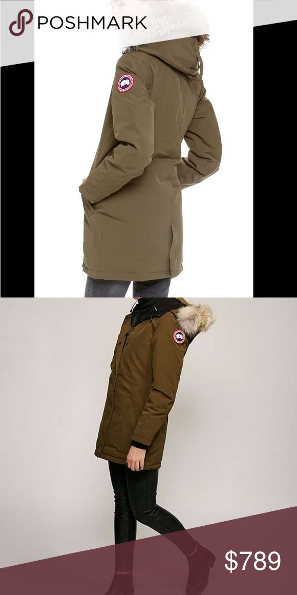 ⭐️Canada goose Victoria parka Military green Canada goose Victoria parka. This is the coat once You start wearing and will never feel like taking off. Extremely warm. Victoria is the more slimming and fitted one among all Canada goose coats. No flaws. Not eligible for bundle discount. I don't trade. Canada Goose Jackets & Coats Puffers