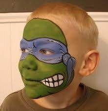 Ninja Turtles face painting