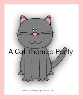 cat theme party ideas kids birthday cake and party ideas cat theme