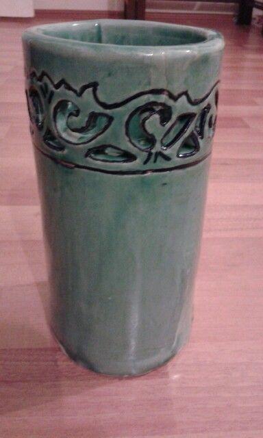 Oksitleme seramik vazo