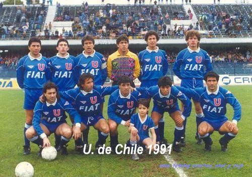U de Chile formacion 1991