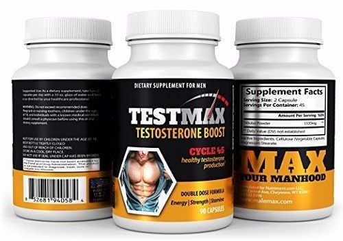 TestMax Testosterone Booster- 45 Day Supply - Boost Sexual Performance Size and #Nutriment