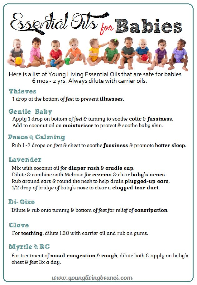 Essential Oils for Babies & Toddlers