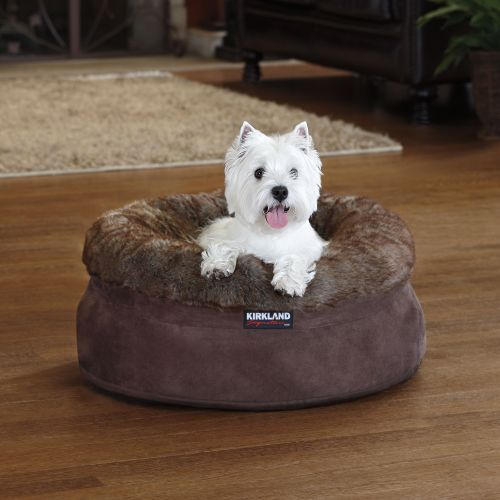 "Costco Furniture Kirkland: Kirkland Signature™ 24 "" Snuggler Pet Bed $42.99 Item"