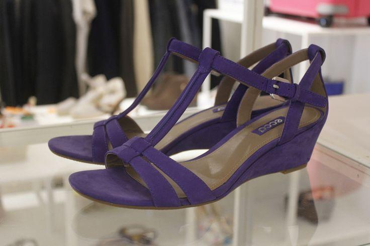 ECCO sandaler med lidt hæl på - rivas45