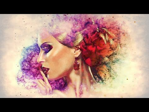 Create Watercolor Effect in Photoshop - YouTube