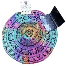 2016 Yoga Mats Multicolor Plage Round Pool Home Douche Serviette Blanket Table Cloth Yoga Mats activing AU12X6 (Chine (continentale))