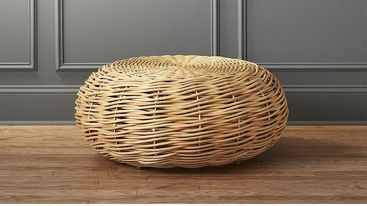 nest rattan coffee table