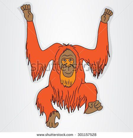 Orangutan Cartoon 57 best images ...