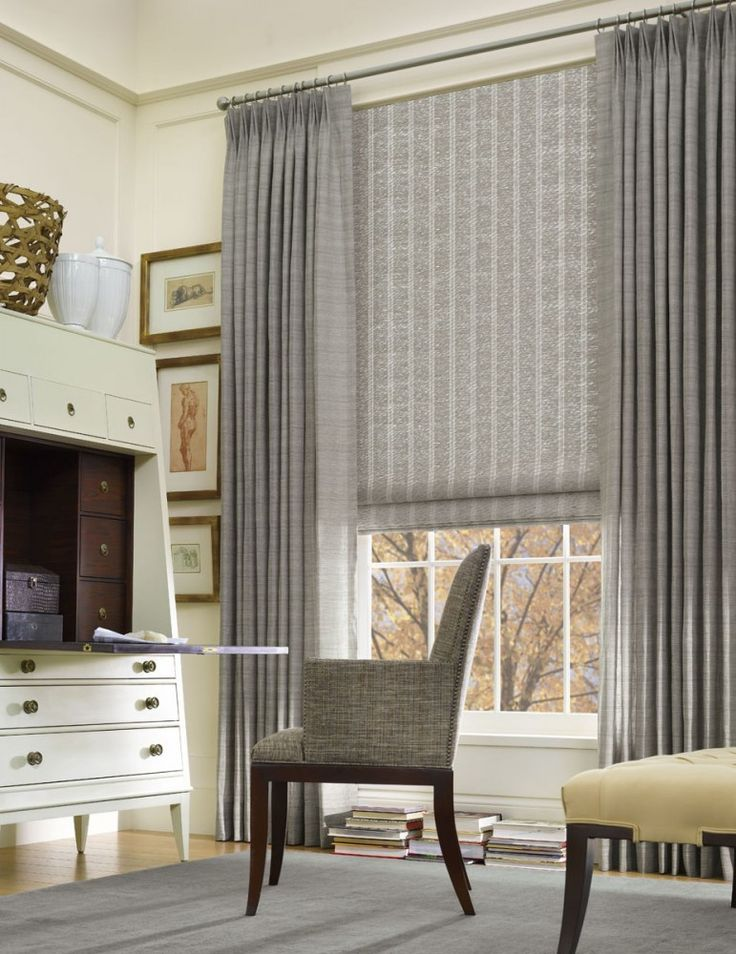 LOVE the look!!  Image Gallery | Hartmann – Natural Windowcoverings, Wallcoverings and Textiles