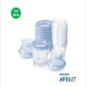 Philips Avent SCF612/10 VIA Anne Sütü Saklama Kapları (10x180ml)