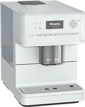 CM 6150 - Stand-Kaffeevollautomat mit OneTouch for Two-Zubereitung für perfekten Kaffeegenuss.--Lotosweiß