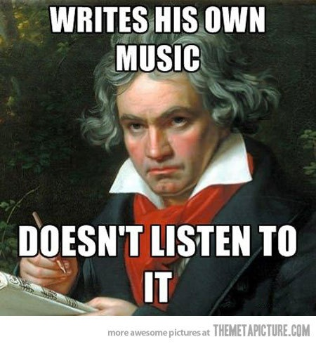 Roll Over Beethoven !