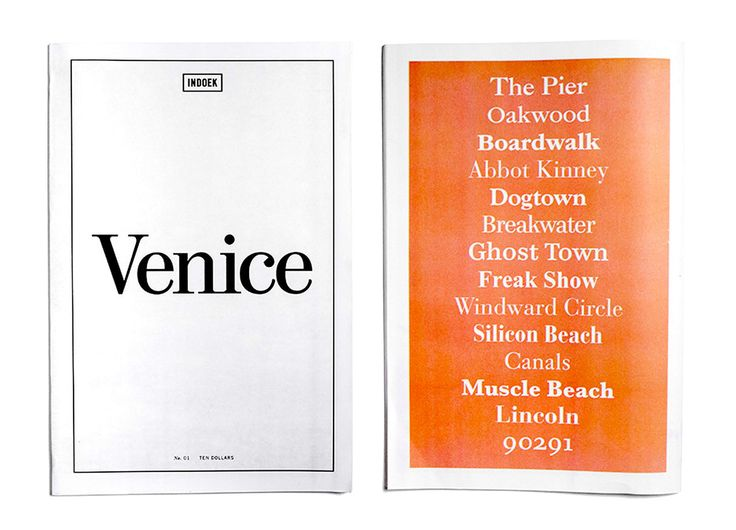 Indoek Magazine - The Venice Issue - SURFING COWBOYS