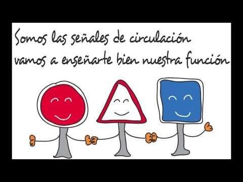 Las Señales de Circulación (Educación Vial Infantil) - YouTube