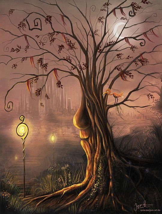 Increíbles ilustraciones de fantasía por Jeremiah Morelli