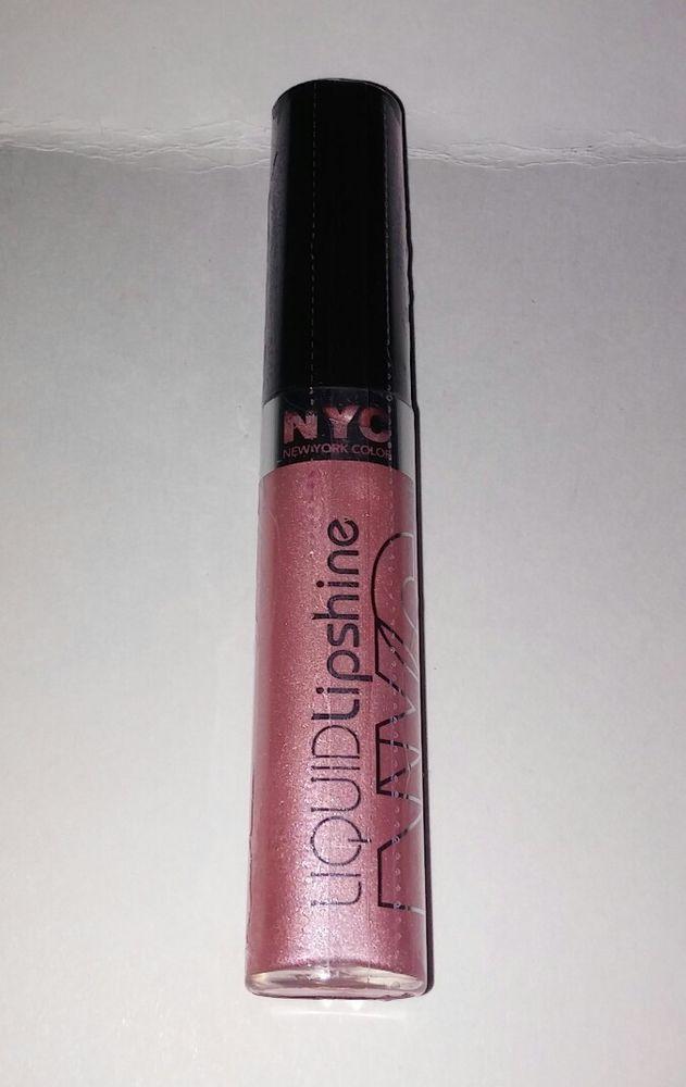 Nyc Liquid Lipshine Lip Gloss 576 Prospect Pink New Factory