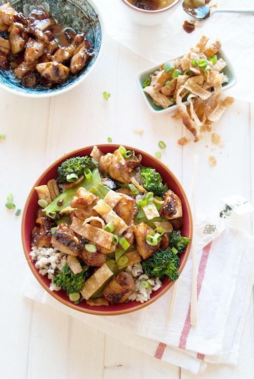 Food Truck Tuesday – Chinese kip en rijst 'bowl'