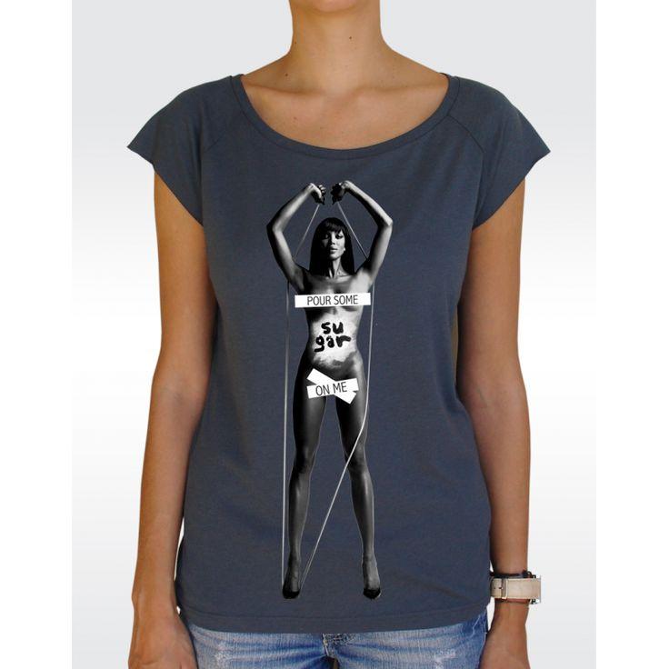 W43 SUGAR T-shirt Women's Bamboo Viscose Raglan T-Shirt Available in 5 colours!