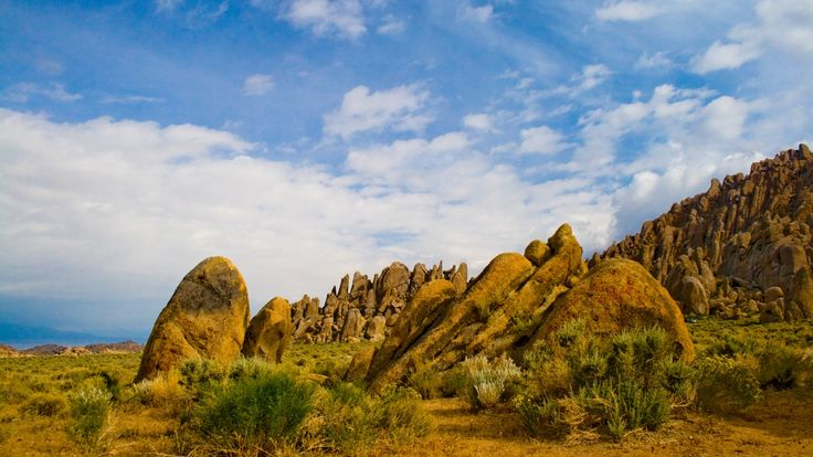 The Nature of Photographs: Alabama Hills Wallpaper Landscape Nature.