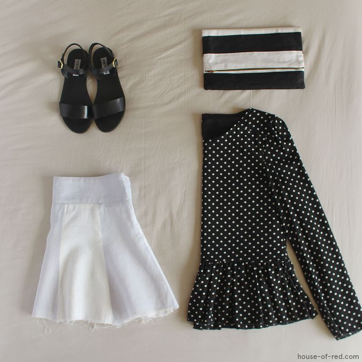 Stripes & Polka Dots - House Of Red