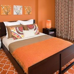 Bedroom Photos Orange Bedroom Design, Pictures, Remodel, Decor and Ideas